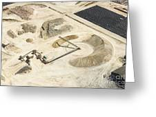 Sand Mine, South Africa Greeting Card