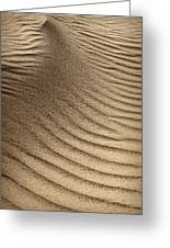 Sand Pattern Abstract - 3 Greeting Card
