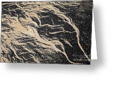 Sand Patterns Greeting Card