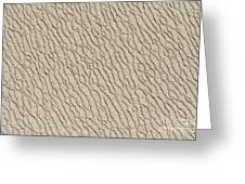 Sand Skin Greeting Card