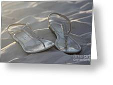 Sandals 4 Greeting Card