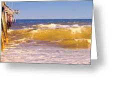 Sandbridge Pier Greeting Card