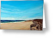 Sandbridge Virginia Beach Greeting Card