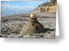 Sandman Snowman Greeting Card