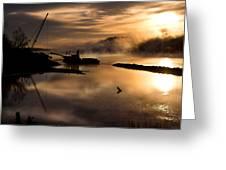 Sandplant Dawn Greeting Card