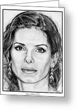 Sandra Bullock In 2005 Greeting Card