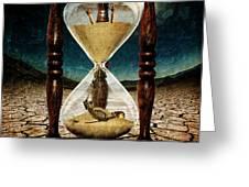 Sands Of Time ... Memento Mori  Greeting Card
