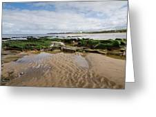 Sands Of Whitley Bay Greeting Card