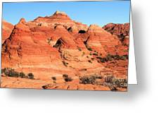 Sandstone Amphitheater Greeting Card