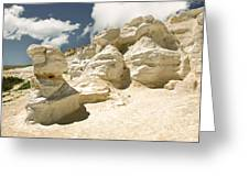 Sandstone And Sky Greeting Card