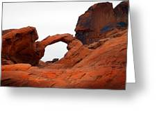 Sandstone Arch Valley Of Fire Greeting Card
