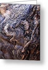 Sandstone Boulder Detail Greeting Card