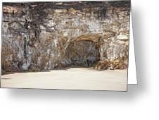Sandstone Cave Greeting Card