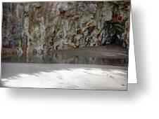 Sandstone Cave V2 Greeting Card
