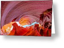 Sandstone Chasm Greeting Card