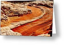 Sandstone Highway Greeting Card