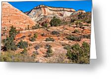 Sandstone Hills Greeting Card