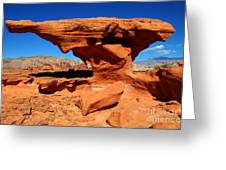 Sandstone Landscape Greeting Card