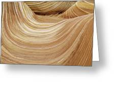 Sandstone Lines Greeting Card
