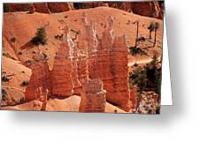 Sandstone Pillars Greeting Card