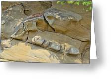 Sandstone Reclining Greeting Card