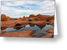 Sandstone Reflections 2 Greeting Card