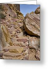 Sandstone Steps Greeting Card