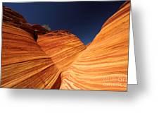 Sandstone Waves Greeting Card