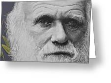 Sandwalk Wood- Charles Darwin.  Greeting Card