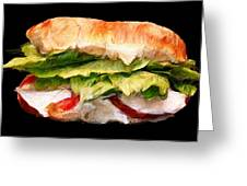 Sandwich Time Greeting Card