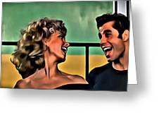 Sandy And Danny Greeting Card