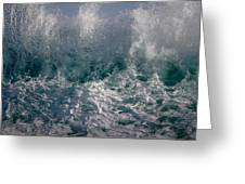 Sandy Beach Backwash Greeting Card
