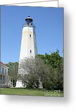 Sandy Hook Lighthouse II Greeting Card