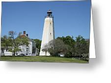 Sandy Hook Lighthouse IIi - N  J Greeting Card