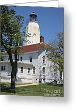 Sandy Hook Lighthouse Iv Greeting Card