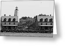 Sandy Hook New Jersey Lighthouse Greeting Card