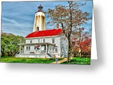 Sandy Hook Spring Greeting Card