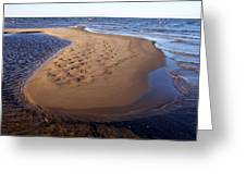 Sandy Island Greeting Card
