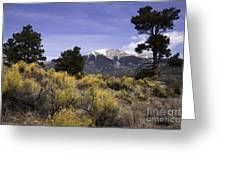 Sangre De Chisto Mtns Greeting Card