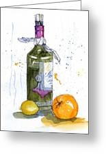Sangria Happening Greeting Card