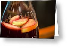 Sangria Greeting Card