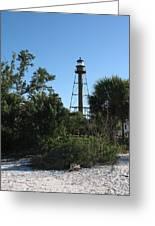 Sanibel Island Lighthouse Greeting Card