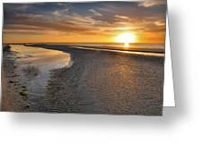 Sanibel Sunrise Xxi Greeting Card