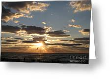 Sanibel Sunset Greeting Card