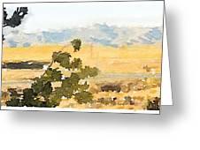 Santa Ana View Greeting Card