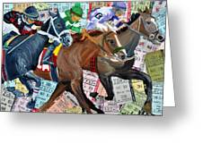 Santa Anita Greeting Card
