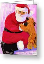 Santa Baby Greeting Card