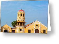 Santa Barbara Church Greeting Card