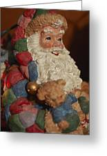 Santa Claus - Antique Ornament - 03 Greeting Card