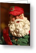 Santa Claus - Antique Ornament - 16 Greeting Card